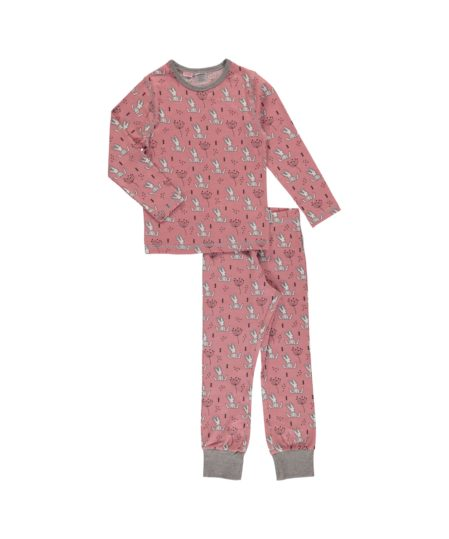 maxomorra pyjamas sweet bunny