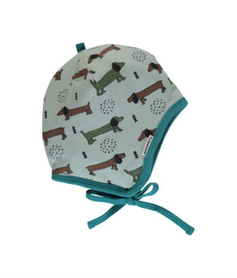 maxomorra helmet dotted puppy